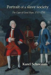 Cover of: Portrait of a Slave Society