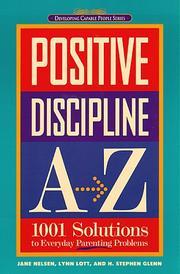 Cover of: Positive discipline A-Z