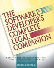 Cover of: The Software Developer's Complete Legal Companion
