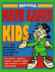 Cover of: Mensa Math Games for Kids