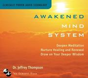 Cover of: Awakened Mind System | Jeffrey Thompson