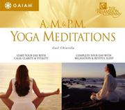 Cover of: Am & Pm Yoga Meditations