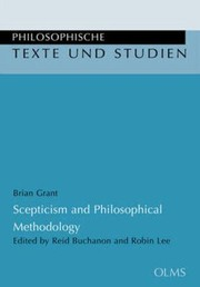 Cover of: Scepticism And Philosophical Methodology