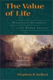 Cover of: The value of life