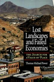 Cover of: Lost Landscapes and Failed Economies