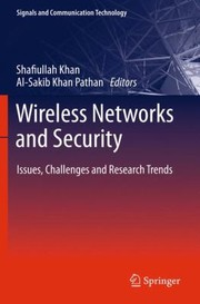 Cover of: Wireless Networks and Security