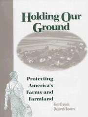 Cover of: Holding our ground