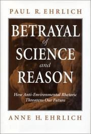 Cover of: Betrayal of science and reason