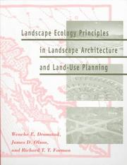 Cover of: Landscape ecology principles in landscape architecture and land-use planning