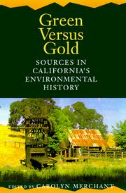 Cover of: Green Versus Gold