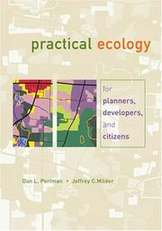 Cover of: Practical Ecology for Planners, Developers, and Citizens | Dan L. Perlman