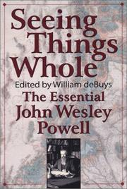 Cover of: Seeing Things Whole