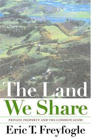 Cover of: The Land We Share | Eric T. Freyfogle