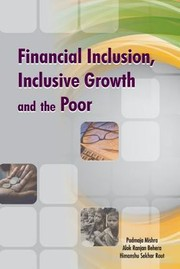Cover of: Financial Inclusion Inclusive Growth  the Poor