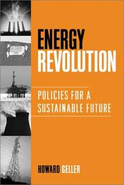 Cover of: Energy Revolution