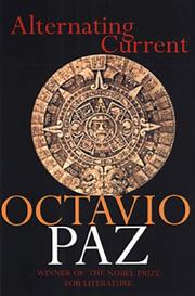 Cover of: Alternating current | Octavio Paz