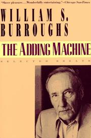 Cover of: The adding machine