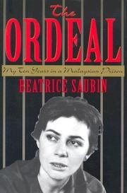 The ordeal by Béatrice Saubin
