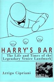 Cover of: Harry's Bar