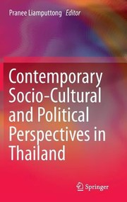 Cover of: Contemporary Sociocultural And Political Perspectives In Thailand