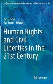 Cover of: Human Rights And Civil Liberties In The 21st Century