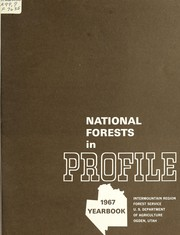 Cover of: National forests in profile