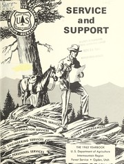 Cover of: Service and support