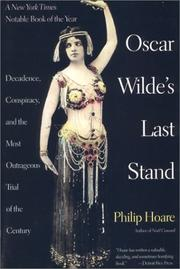 Cover of: Oscar Wilde's Last Stand