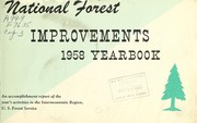 Cover of: National forest improvements