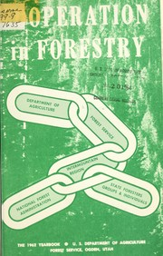 Cover of: Cooperation in forestry
