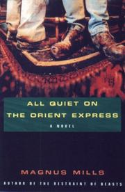Cover of: All quiet on the Orient Express