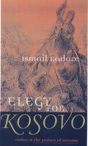 Cover of: Elegy for Kosovo