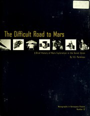 Cover of: The difficult road to Mars