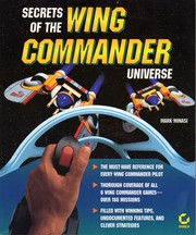 Cover of: Secrets of the Wing Commander universe | Mark Minasi