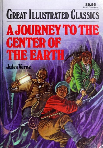 A journey to the center of the earth by Jules Verne