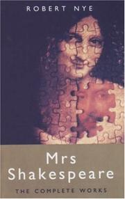 Cover of: Mrs. Shakespeare