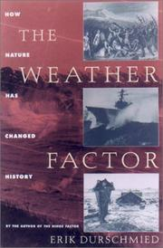 Cover of: The Weather Factor: How Nature Has Changed History