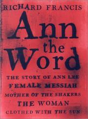 Cover of: Ann the Word