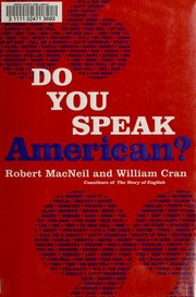 Cover of: Do you speak American?: a companion to the PBS television series