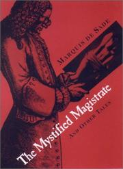 Cover of: The Mystified Magistrate