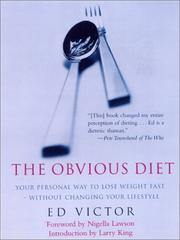 The Obvious Diet by Ed Victor