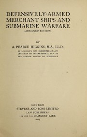 Defensively-armed merchant ships and submarine warfare