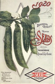 Cover of: Portland Seed Company's complete seed annual for 1920