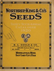 Cover of: Northrup, King & Co.