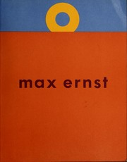 Cover of: Max Ernst by Max Ernst