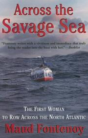 Cover of: Across the Savage Sea | Maud Fontenoy