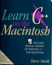 Cover of: Learn C++ on the Macintosh | Dave Mark