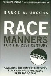 Cover of: Race Manners for the 21st Century