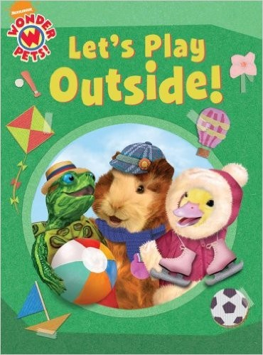 Let's play outside! by Laura Brown