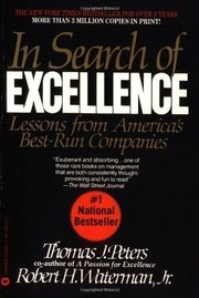 Cover of: In search of excellence | Thomas J. Peters